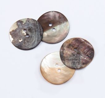 Mother of Pearl Button #1