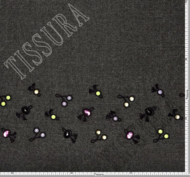 Swarovski Embroidered Tweed #2