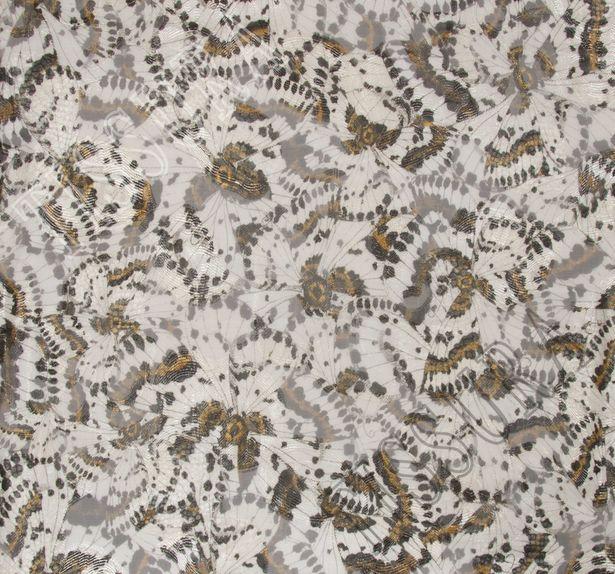Fil Coupe Silk Chiffon #1