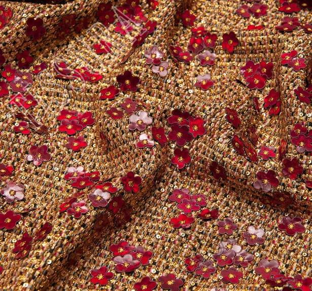 Sequined Tweed Boucle #4