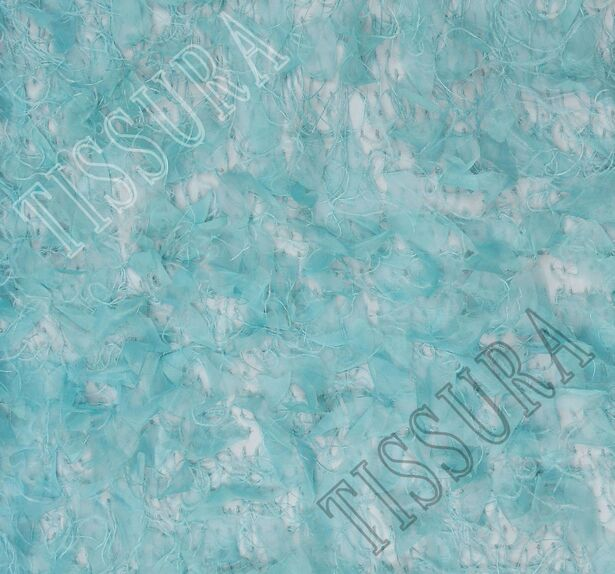 Feather Embroidered Tulle #3