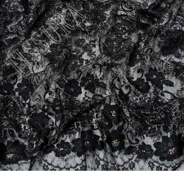 Swarovski Appliqued Chantilly Lace #4