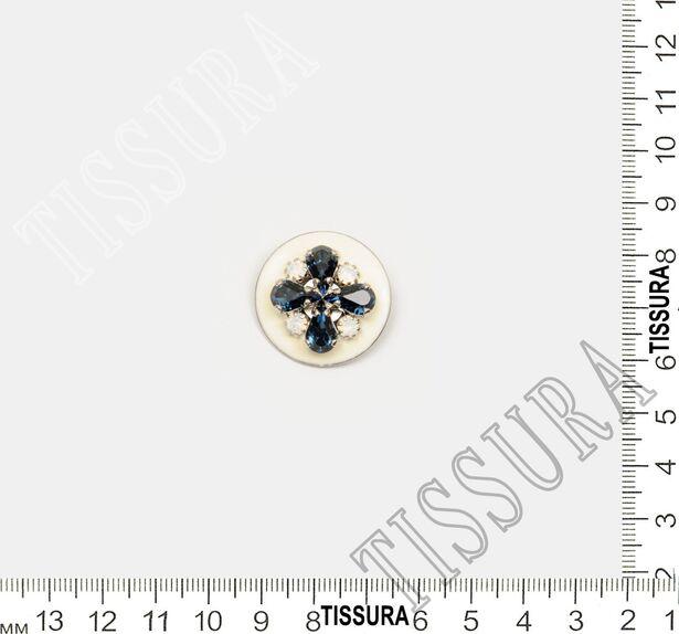 Rhinestone & Enamel Buttons #2