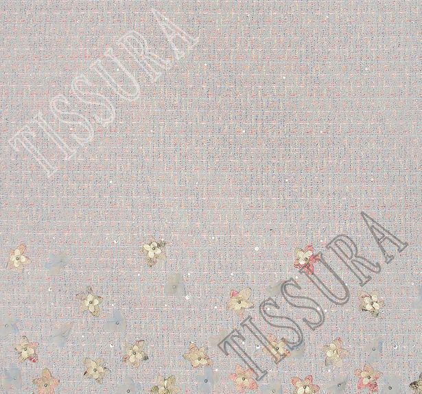 Embroidered Tweed Boucle #3