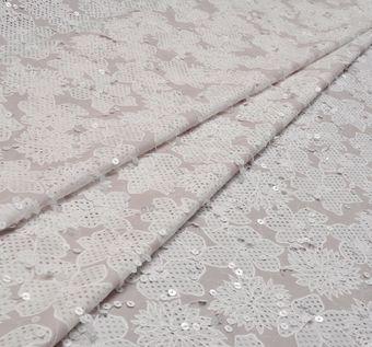 Designer Sequined Cotton #1