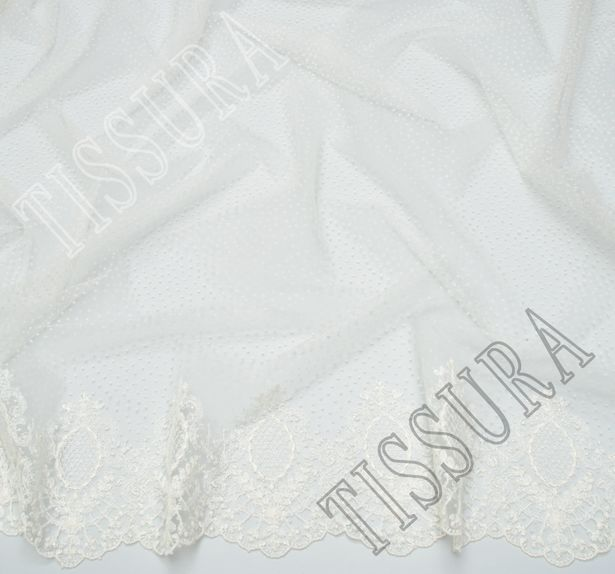 Embroidered Tulle #3