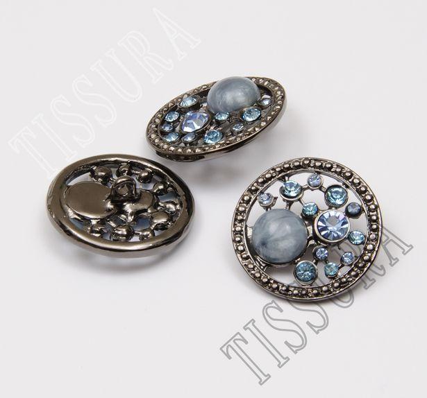 Rhinestone & Enamel Buttons #3