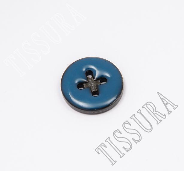 Enamel Horn Buttons #1