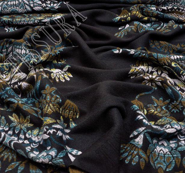 Wool Blend Jacquard #4