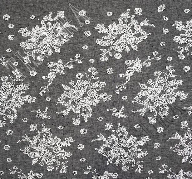 Embroidered Linen #3
