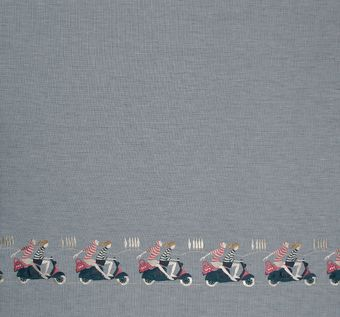Embroidered Cotton & Linen #1
