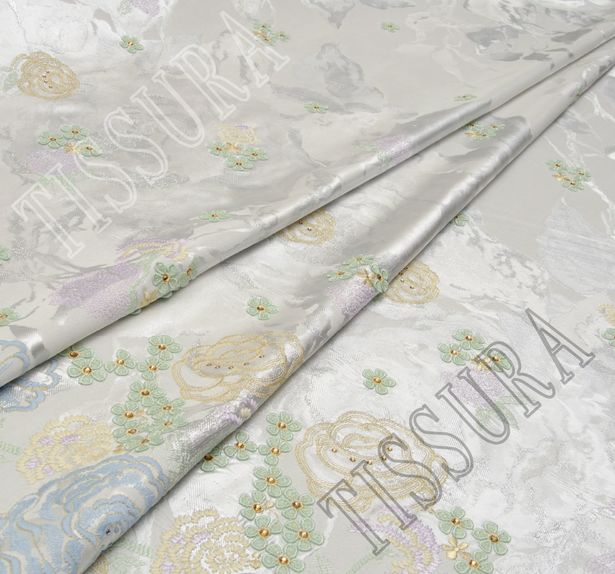 Embroidered Jacquard #1