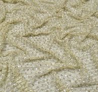 Sequin & Bead Embroidered Tulle #4