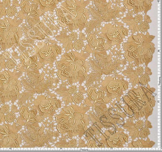 Golden Guipure Lace #2