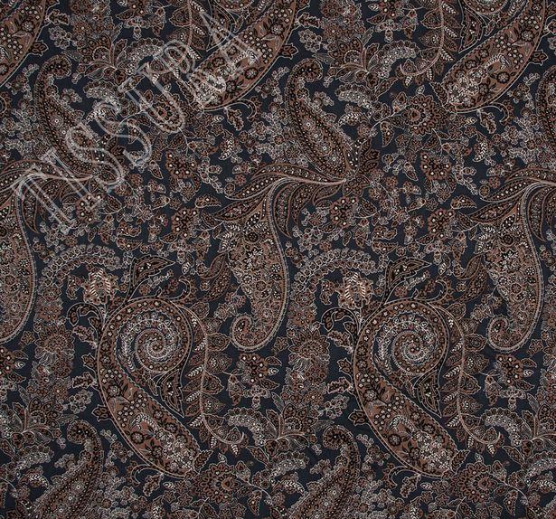 Wool & Silk Twill #1