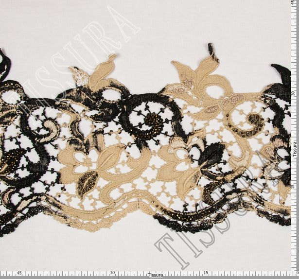 Embroidered Guipure Lace Trim #2