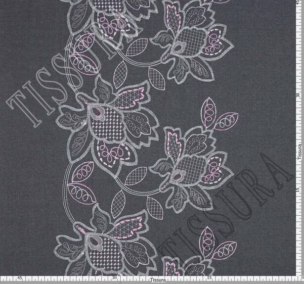 Embroidered Wool #2