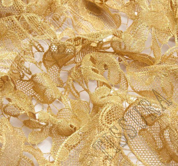 Golden Guipure Lace #4
