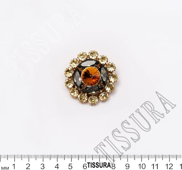 Rhinestone Button #2