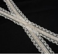 Embroidered Chantilly Lace Trim