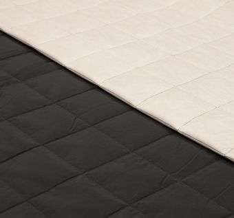 Coated Quilted Wool #1