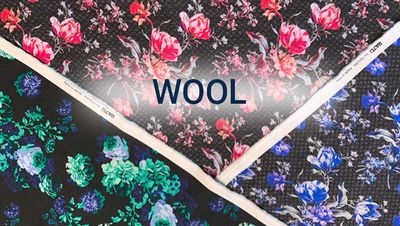Sale 40% and 60% on Wool
