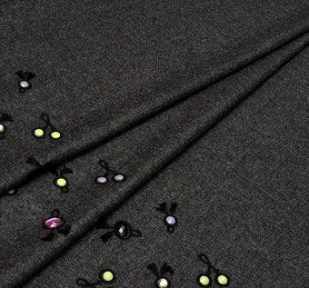 Swarovski Embroidered Tweed #1