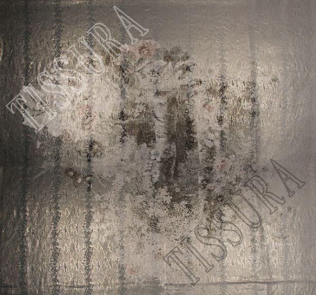 Metallic Silk Lame #4