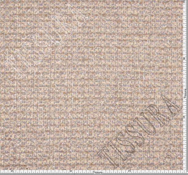 Sequined Wool Tweed Boucle #2