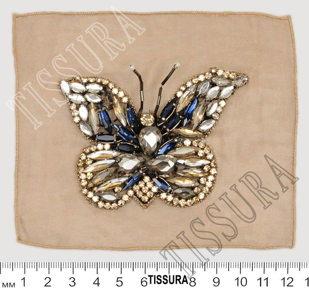 Crystal & Bead Patch #2