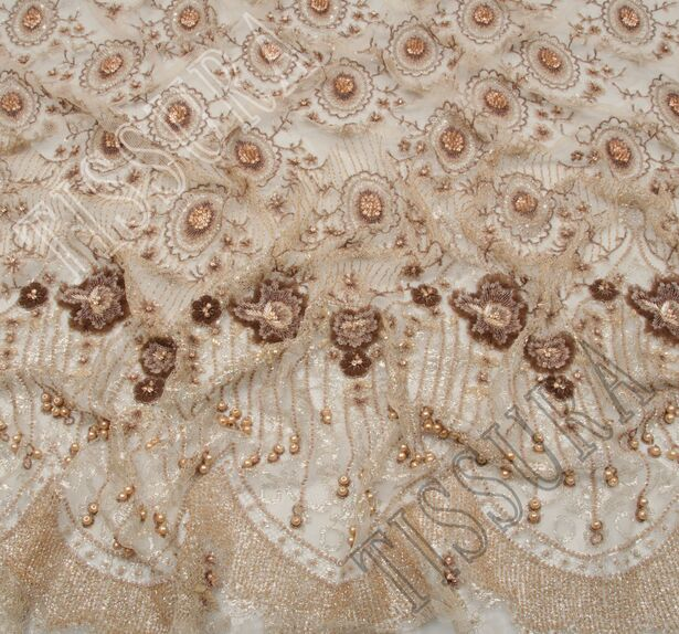 Embroidered Chantilly Lace #1