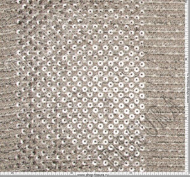 Laser Cut Appliqued Tweed Boucle #2