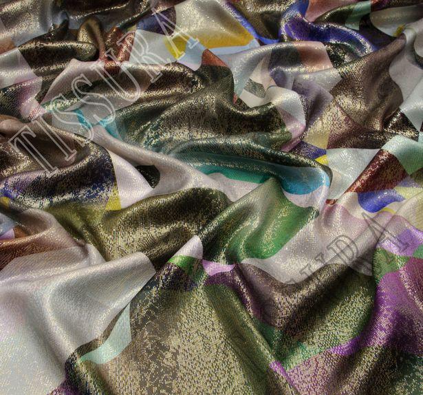 Metallic Silk Lame #3