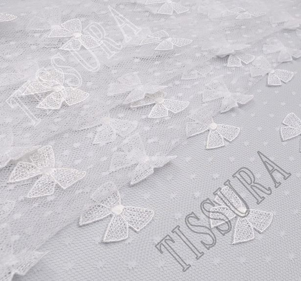 Bow Applique Tulle #4