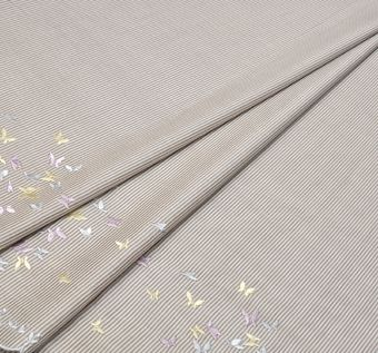 Embroidered Cotton Poplin #1