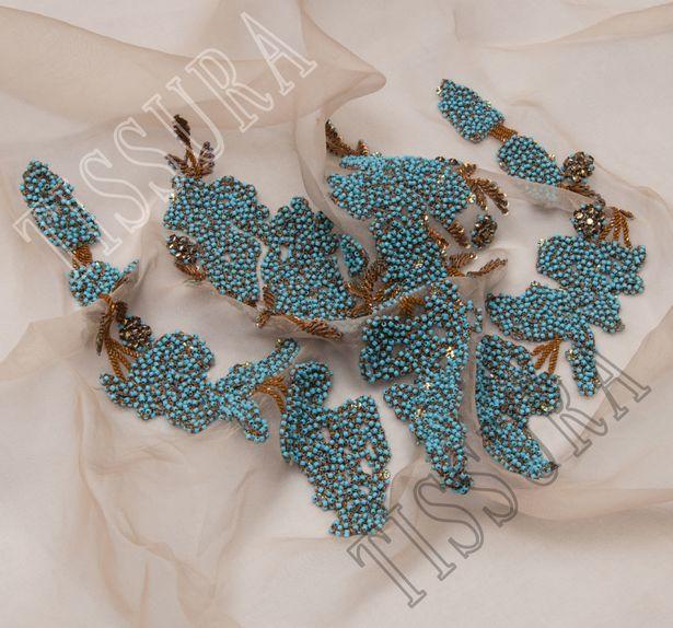 Bead & Sequin Patch #3
