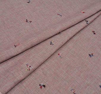Butterfly Applique Linen #1