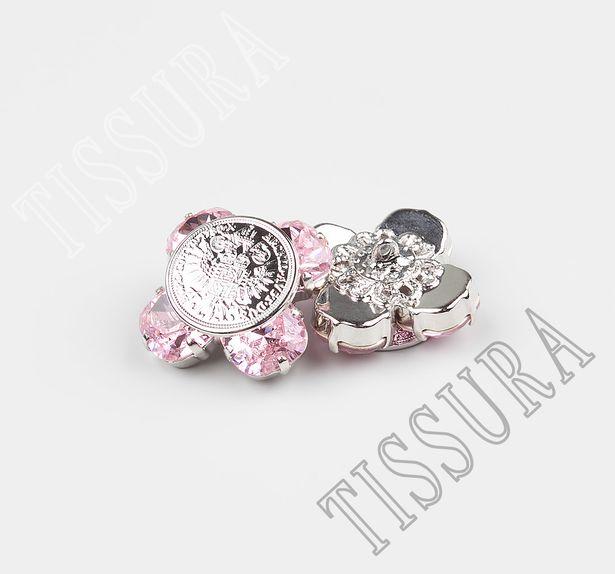 Rhinestone & Metal Buttons  #3