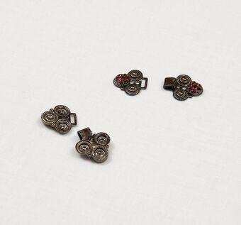 Rhinestone Metal Clasp #1