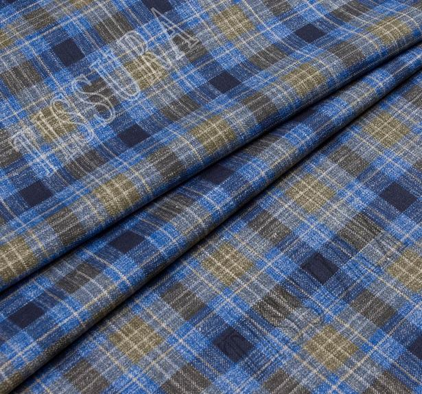 Worsted Wool, Silk & Linen #1