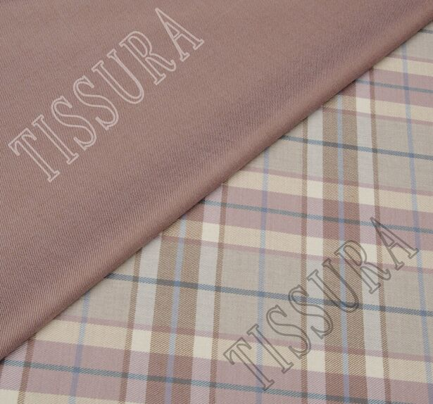 Double Faced Wool Twill #1