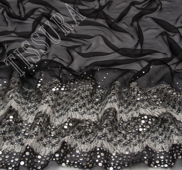 Sequined Layered Chiffon #4