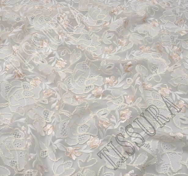 Embroidered Organza #4