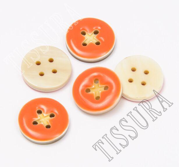 Enamel Horn Buttons #3