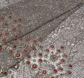 Rhinestone Embroidered Tulle #1