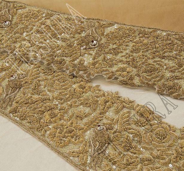 Zardozi Embroidered Tulle #4