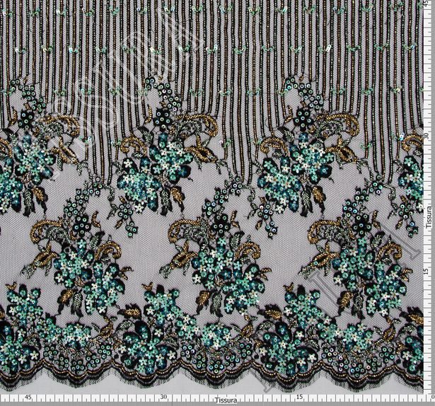 Sequined & Beaded Lace #2