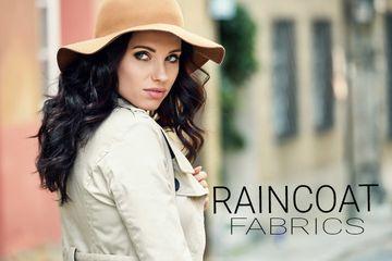 Raincoat fabrics
