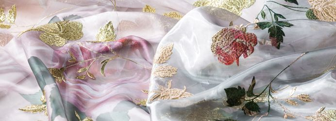 Luxury Embroidered Fabrics