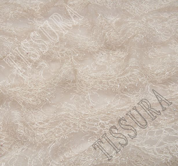 Swarovski Chantilly Embroidered Tulle #4